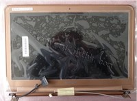 The Lcd Panel For Samsung NP 900X3A Gold LCD Screen DISPLAY Half Top With Case Cover