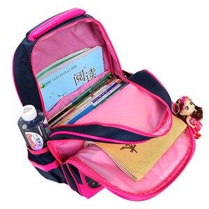 Image 3 - Filles chaudes mignon sac à dos orthopédique filles école orthopédique cartable nouveau 2019 cartable sac à dos fille cartable 2 3 4 6 grade