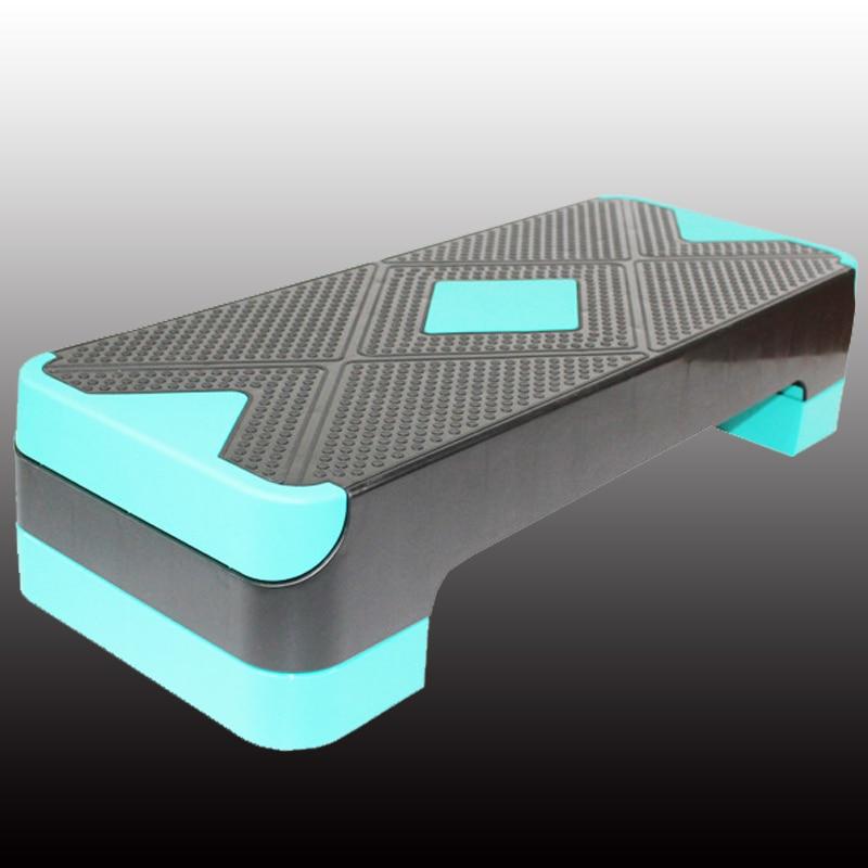 Multifonctionnel matériel Fitness aérobie étape réglable exercice Stepper hauteur ajuster marchepied 68*28*15 cm pour le Sport de gymnastique
