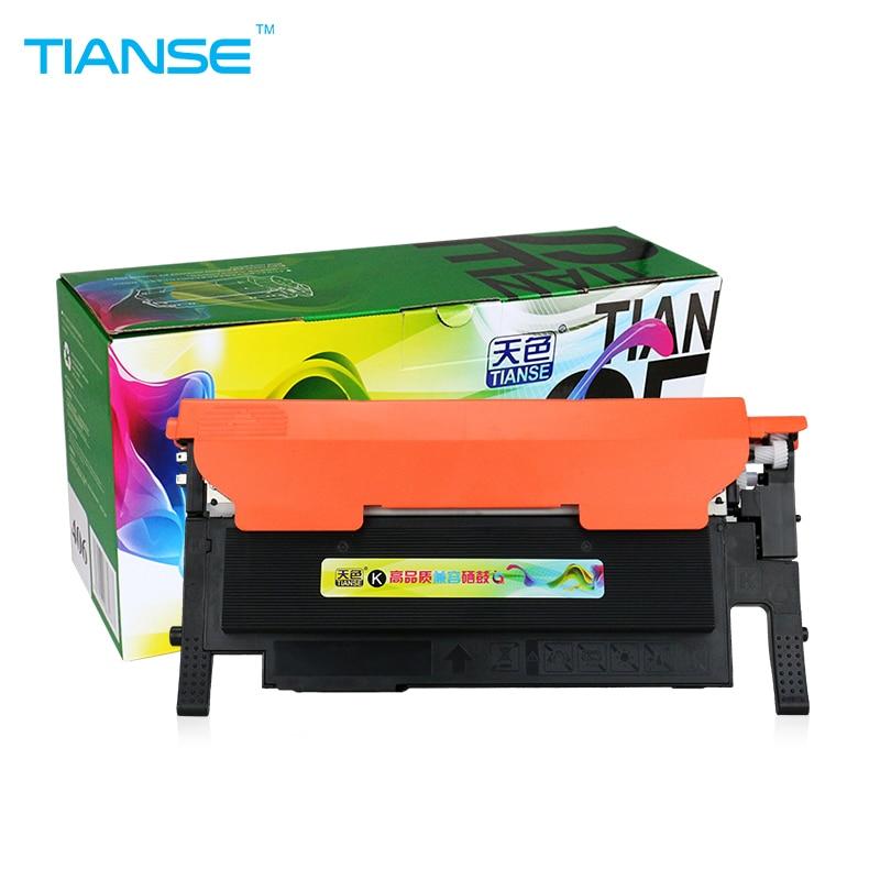 TIANSE CLT-K406S toner cartridge CLT K406S 406S 406 for Samsung CLP 360 365W 366W CLX-3305FW CLX 3305 3306FH Xpress C410CW 460FW refill for samsung proxpress c 410 fw mltd4063 s clt k 4063 slc 412 w clt k 4062 els xaa xil see compatible new replacement