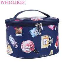 Fashion Women Cosmetic Makeup Bag Travel Organizer Functional Bag Cosmetic Storage Makeup Bag Beautician Professional Makeup Bag