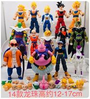 2019 Newest Model Dolls Dragon ball z action figures dragonball super movable joints doll set doll toy goku toys for children