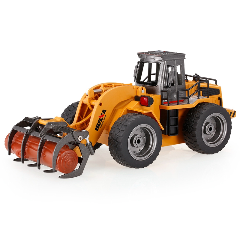 HUINA 1590 1/18 2.4GHz 6CH RC Alloy Timber Grab Truck Toys