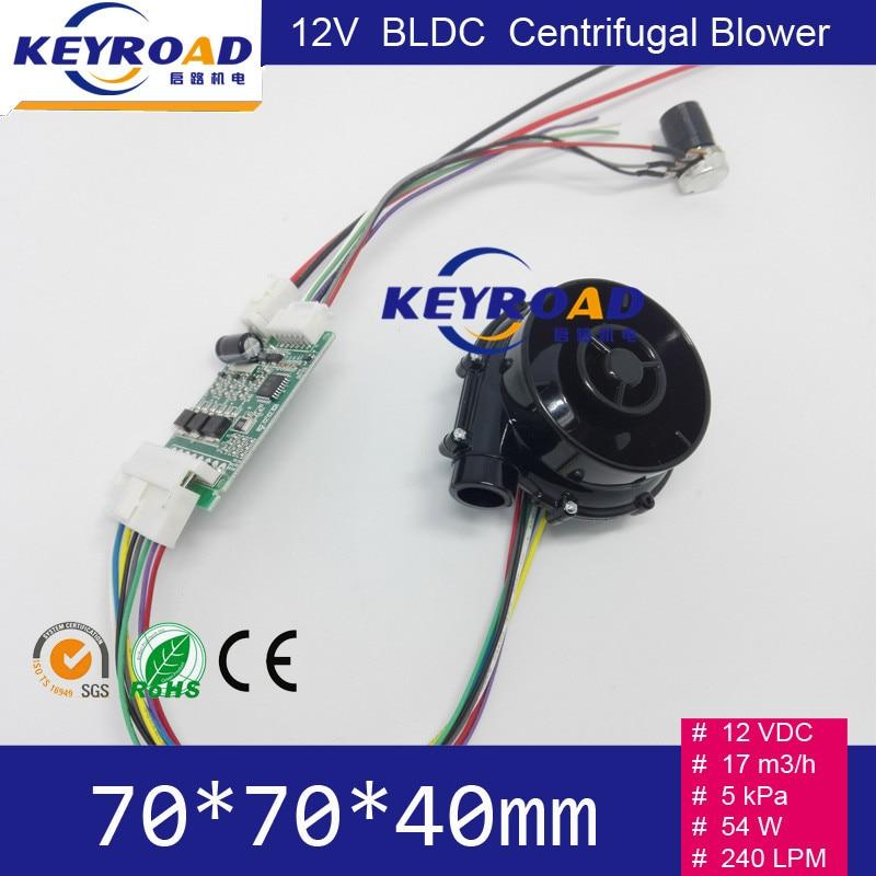 12V 54W 17m3 / h Micro ventilatore DC senza spazzola ad alta - Utensili elettrici - Fotografia 6