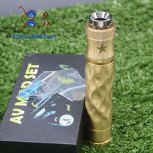 2019 Avid lyfe AV starter kits AV MOD Mechanical Mod 18650 battery e cigarette kit 24mm diameter with 510 thread Atomizer(China)