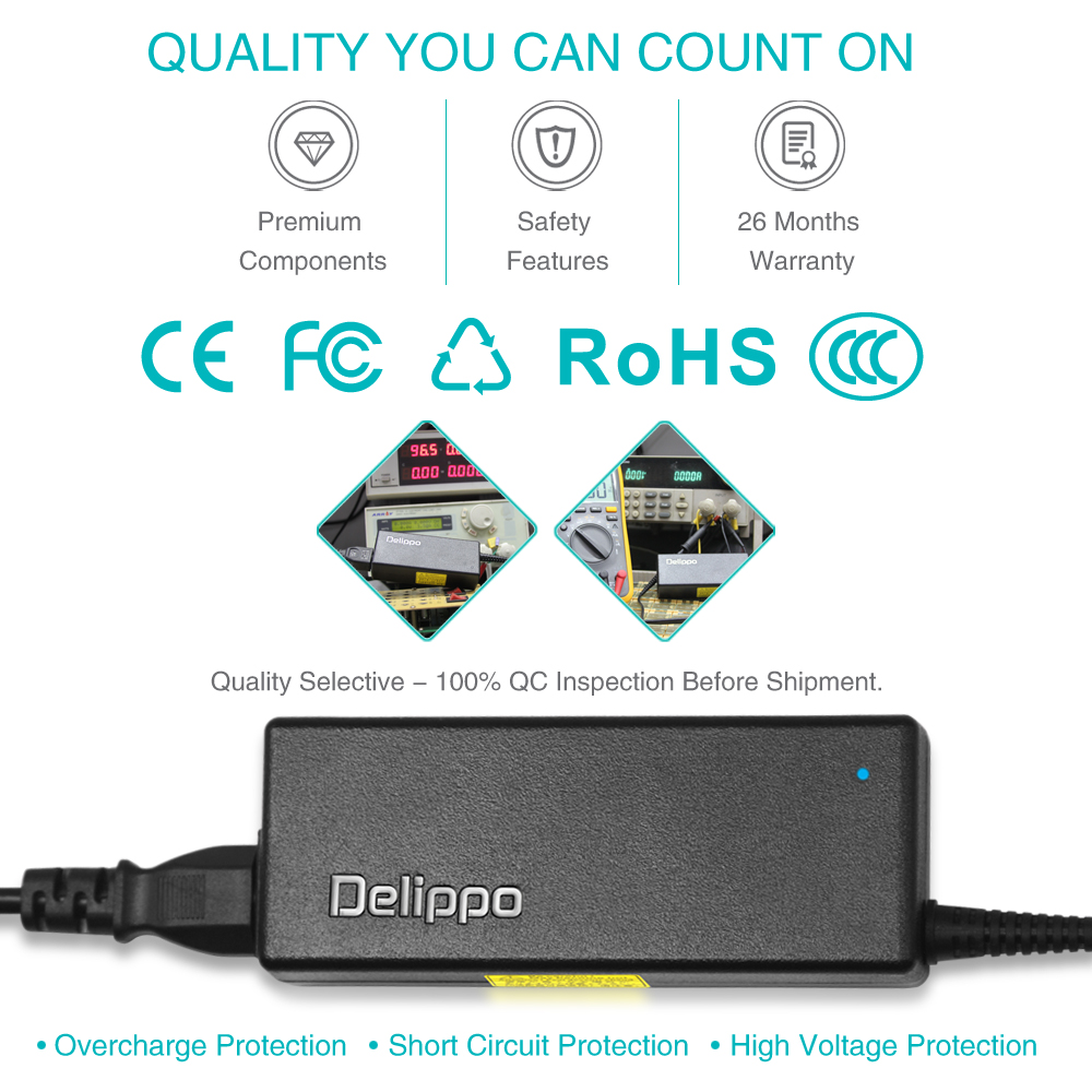 Delippo 20 V 4.5A 7.9 * 5.5mm Laptop AC Adapter Oplader Voor Thinkpad - Notebook accessoires - Foto 3