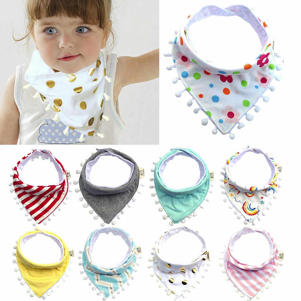 MUQGEW Mooie Slabbers Waterdichte Leuke Print Patroon Peuter Baby Waterdichte Speeksel Handdoek Maaltijd Burp baby Accessoires 11 Kleuren
