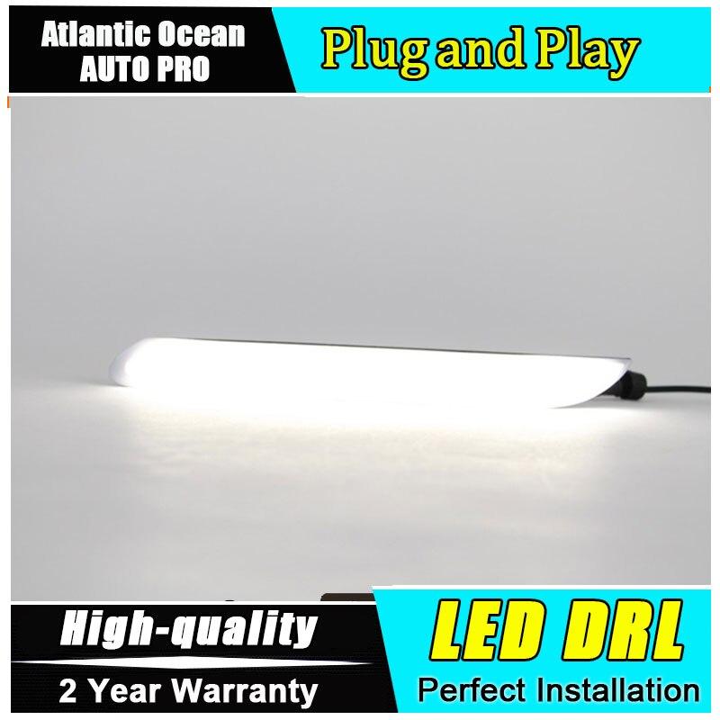 JGRT car styling For peugeo 408 LED DRL For 408 led daytime running light High brightness guide LED DRL