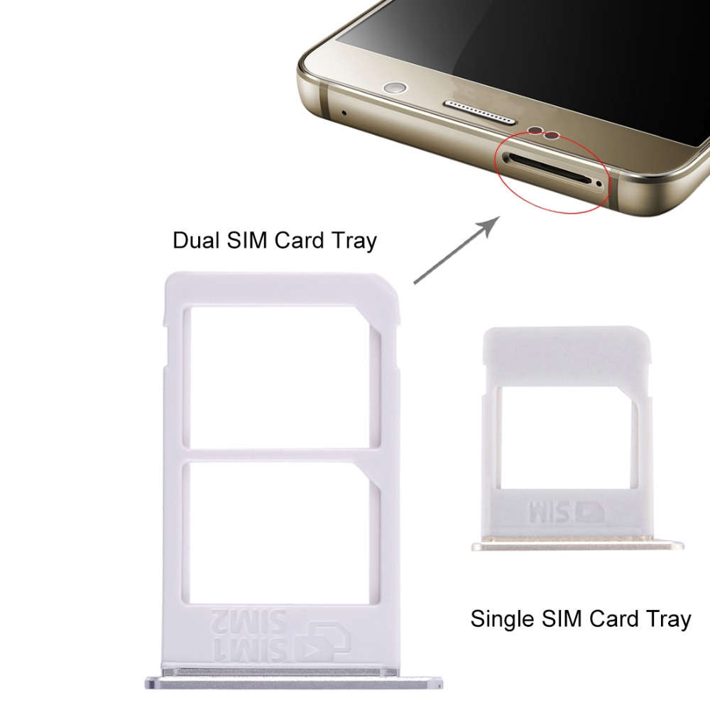 Dual / Single SIM Card Tray Replacement for Galaxy Note 5 / N920