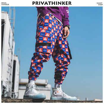 Privathinker Men Funny Full Print Joggers Pants 2019 Mens Streetwear Sweatpants Male Hip Hop Korean Fashions Pocket Track Pants - DISCOUNT ITEM  40% OFF All Category