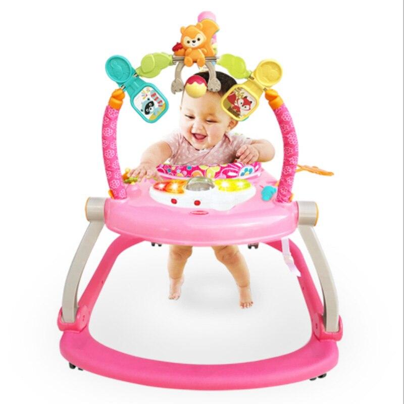 Trotteur bébé sautant heureux parc bébé balançoire bébé enfant sautant chaise Piano musique Fitness jouet