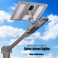 Светодиодный интегрированной солнечной энергии уличный фонарь, домашний сад Пейзаж Завод квадратных, муниципальных освещения дороги умны