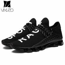 Фотография VIXLEO 2018 Casual Shoes Breathable High Hop Slipon Men Trainers Zapatillas Hombre Presto Tenis Masculino Ultras Boosts Krasovki