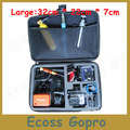free shipping new 2014 Arrival gopro accessories POV Shockproof Portable  Bag for gopro hero 3 hero 3+ hero2 Black Case