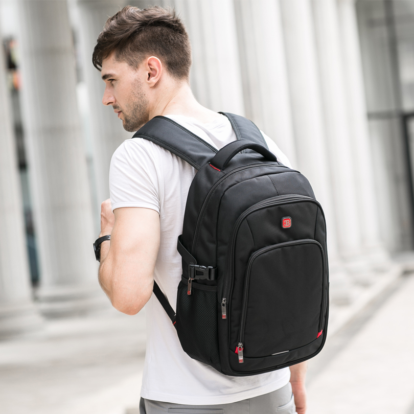 "Balang 15.6"" Laptop Backpacks For Teenager Fashion Women Schoolbag New Waterproof Travel Backpack Men's Mochila Escolar Feminina #5"