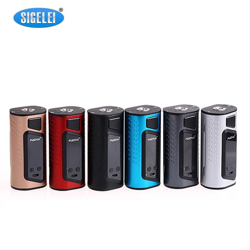 Sigelei Fuchai Duo 3 Mod Electronic Cigarette Vape Mod Use Dual or Three 18650 175W 255W 510 Box Mod Support VW TC TCR Modes
