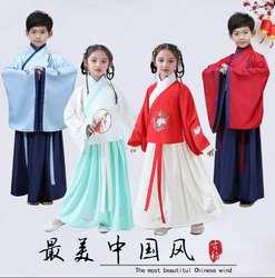 Hanfu/костюм в китайском стиле; традиционные костюмы для выступлений; 14 стилей; традиционная китайская одежда для мальчиков и девочек;