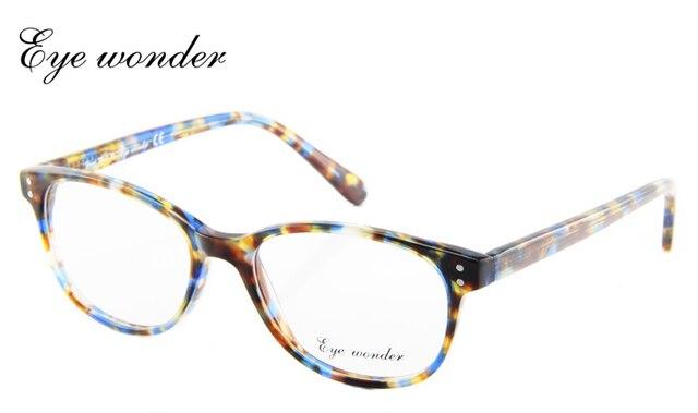 Eye Wonder Retail High Quality Women Vintage Oval Glasses Men Retro Eyewear Frames Lunettes Oculos Brille Gafas