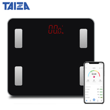 Original TAIZA Weighing Scales floor Smart Bluetooth Body Scale Weight Bathroom Fat mi Timbangan Digital Human