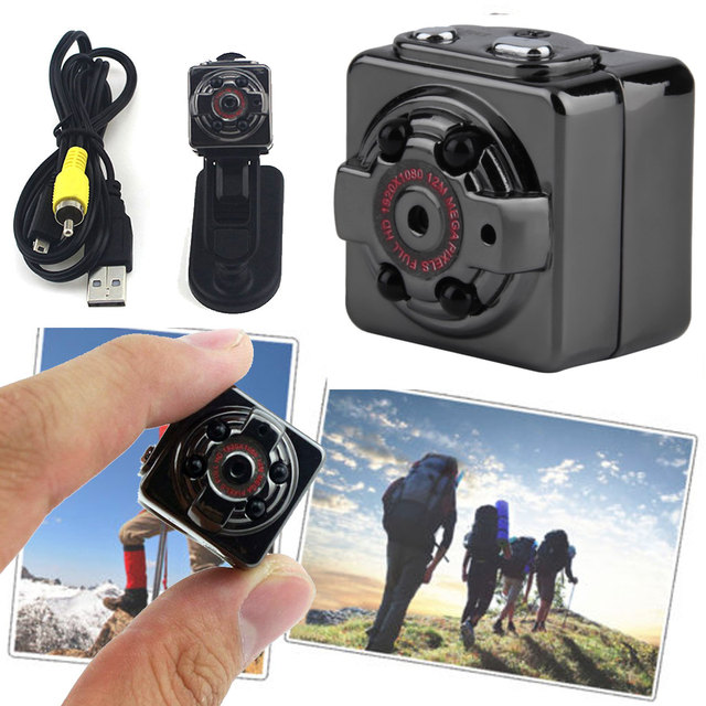 f3538789ba78ba Apleok SQ11 SQ8 Mini Caméra Enregistreur HD 1080 P 720 P Mini DV Caméra  Caméscope Infrarouge