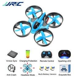 JJR/C JJRC H36 Мини Quadcopter 2,4 г 4CH 6 оси Скорость 3D флип Headless режим Радиоуправляемый Дрон игрушка подарок настоящее RTF VS Нибиру E010 H8 мини
