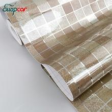 ФОТО classic waterproof mosaic vinyl self adhesive stickers anti oil kitchen wallpaper heat resistance home decor pvc wall stickers