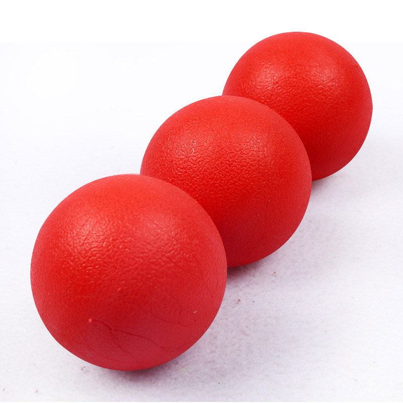 1PC Red Solid Elastic Pet Ball Toys Puzzle Rubber Chew Game Training Pet Dog Toy 2018ing