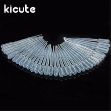 100 шт прозрачные одноразовые пластиковые пипетки капельницы