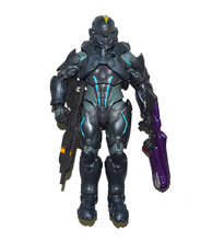 "Halo Collector Series UNSC Spartan Locke Blue Team 6"" Loose Action Figure"