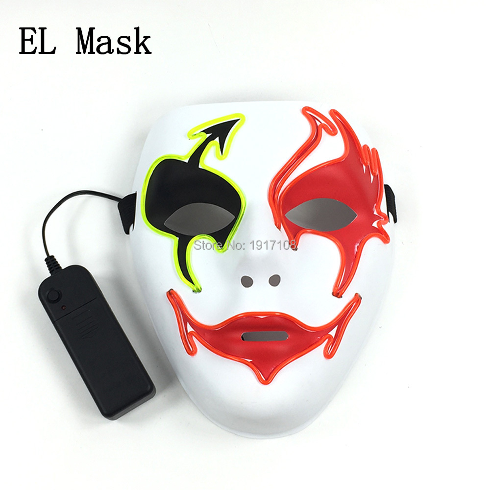 Standard Packing Death mask ghost mask with DJ Dance mask masquerade Plastic halloween props For Fashion Party Supplies Decor