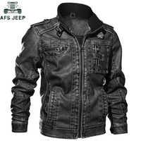 Plus size 6xl 7xl jaqueta de couro dos homens do plutônio casaco outono inverno fino ajuste do falso couro da motocicleta jaquetas masculino jaqueta couro