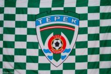 Football club flag FC Terek from the city of Grozny Indoor Flag3′ x 5′ Banner metal holes Flag Custom Any Flag