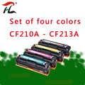 Für CF210A CF210 210A-CF213A 131A Kompatibel Farbe Toner Patrone Für HP LaserJet Pro 200 FARBE M251n M251nw M276n m276nw pri