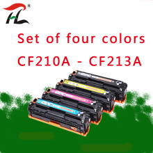 For CF210A CF210 210A - CF213A 131A Compatible Color Toner Cartridge For HP LaserJet Pro 200 COLOR M251n M251nw M276n M276nw pri купить недорого в Москве