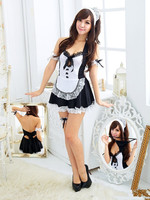 Sexy Apron Maid Outfit Sexy Lingerie Role Playing Game Suit Cafe Waitress Clothes Uniform Temptation G
