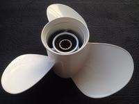 Free shipping 10 5/8x12 For yamaha 20 65hp aluminium propellers outboard boat motors marine propellers 13 teeth