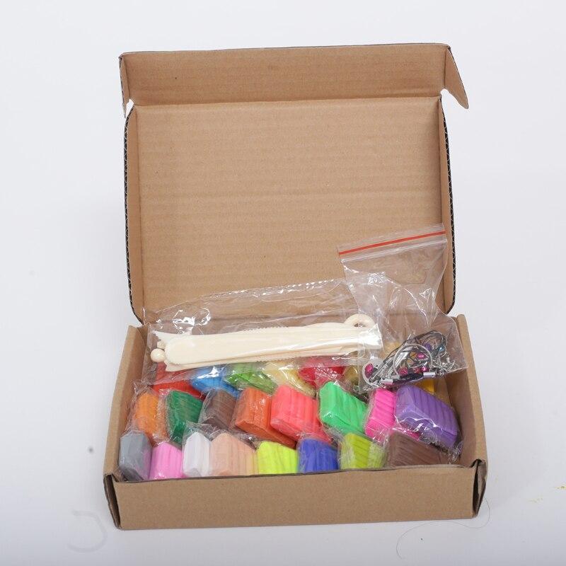 Liyuan 24 colores horno Fimo polímero arcilla plastilina inteligente playdough de la arcilla