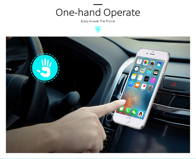 Magnetic Air Vent Mobile Phone Holder