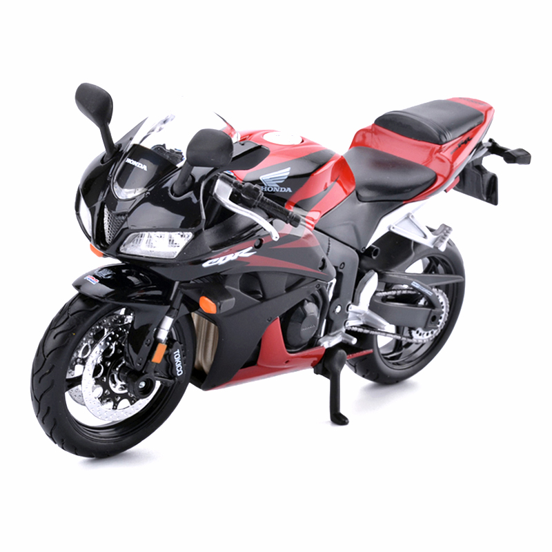 Maisto 1:12 Honda Motorcycle Toy Diecast & ABS Motorcycle Car Toy CBR 600RR Collectible Model Kids Toys Brinquedos Adults Gifts