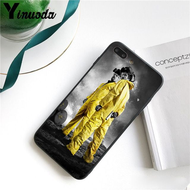 Yinuoda Breaking Bad Chemistry Walter   DIY Painted Phone Case for iPhone 8 7 6 6S Plus X XS MAX 5 5S SE XR 10 Cover