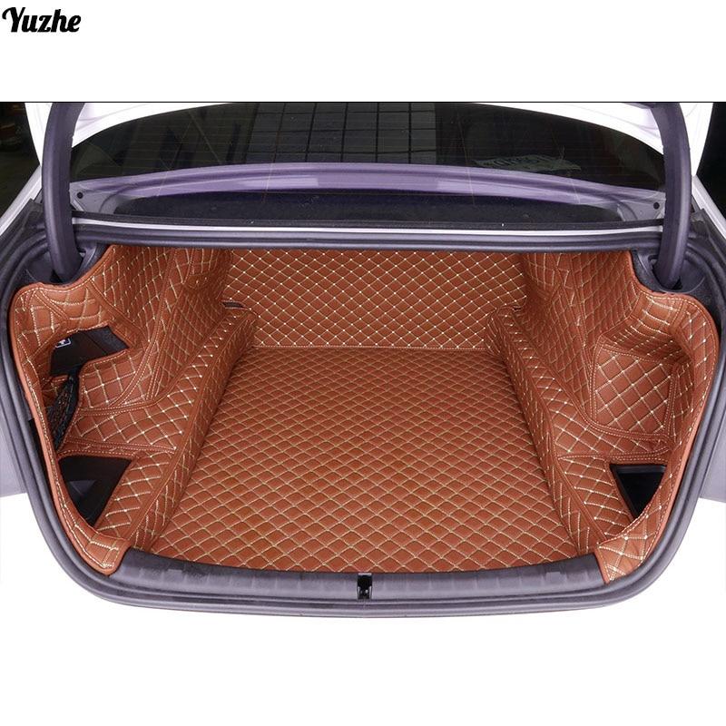 Yuzhe Custom car trunk mat For BMW F10 F11 525I X DRIVER 525I Cargo Liner Interior