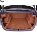 Yuzhe Personalizzato stuoia del tronco auto Per BMW F10 F11 525I X DRIVER 525I Cargo Liner Accessori Interni Tappeto car styling Trunk mat