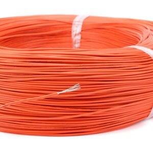 Image 5 - 1pin Flexible toronné 10 mètres fil 20 jauge AWG 8 couleurs Kit PVC fils câble électrique, câble LED, bricolage