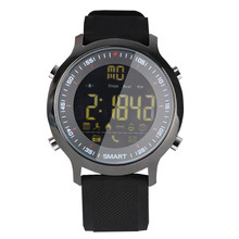 EX18 Inteligente Reloj Teléfono Mensaje Push Actividad Rastreador Podómetro Bluetooth 4.0 A Prueba de agua Deportes para Android IOS Gimnasio Rastreador