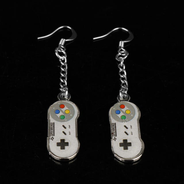 Game Controller Drop Earrings