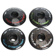 цена на 1pcs MTB bicycle head bowl group on carbon fiber front fork sun cover cover bowl set cover Highway Mountain Bike