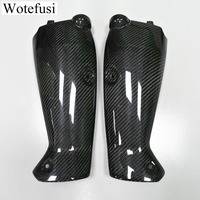 Wotfsi Pair Motorcycle Carbon Fiber Left & Right Side Cover Panel Part For Yamaha R1 2009 2010 2011 2012 2013 2014 [PA519]