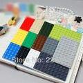 Envío gratis! * 6x10 * DIY ilumine bloque, piezas de ladrillo, Compatible con Lego monta los