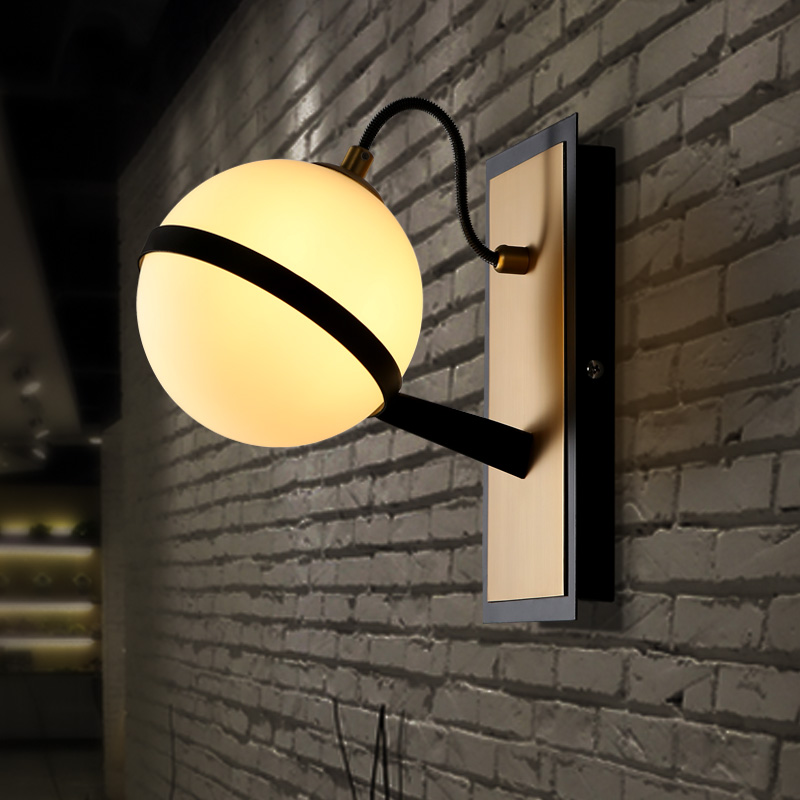 Modern LED wall sconces nordic fixtures moon lighting living room wall lamps aisle illumination bedroom wall lights