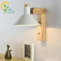 Modern Creative Adjustable Led Wall Lamp,Nordic Bedroom Living room Wall Sconce Corridor Wooden LED Wall Lights Lighting Fixture